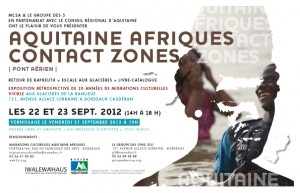 Aquitaine Afriques Contact Zones - Pont aérien
