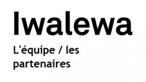 Iwalewa l'équipe - les partenaires